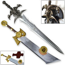Frostmourne & Ashbringer Swords Craft WOW 1:1 Set Full World of Steel War King