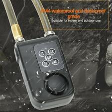 HomeSafe Digital Bicycle Lock 105dB Alarm 75cm toughened steel cable P/W