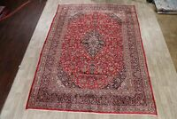 Vintage Floral Traditional Hand-Knotted Area Rug Medallion Oriental Carpet 9x13