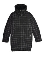 Elvine Womens Delphie Parka Black Check Black S