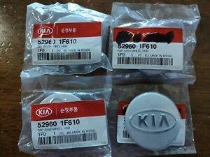 "(4) NEW Genuine OEM For KIA 52960 1F610 Cap Assy-Wheel Hub Center Cap 2 1/4"""