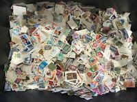 100 WORLD STAMPS, OFF PAPER, reduced old/new, franked multi discount
