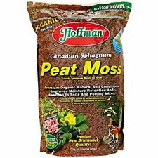 Canadian Sphagnum Peat Moss Organic Natural Soil Conditioner Flower 10 Quarts