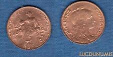 III République, 1871-1940 – 5 Centimes Daniel-Dupuis 1913 Etoile SPL FDC