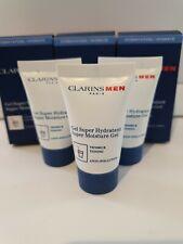 Clarins For Men Super Moisture gel 12ml sealed tubes & boxed x 3