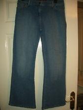 Ladies next petite bootcut Style blue denim Jeans Size UK 32 x 29 inside leg
