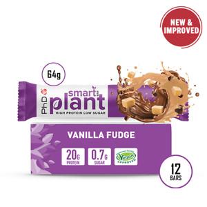 PhD Nutrition Smart Bar Plant - 12 Pack (Choose Flavour)