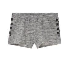 NIP Victoria Secret VS Pink Gray Collegiate Gym Beach Shorts M NEW