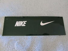 Nike Eye Shield Decals Size Osfm Green/White 6 Pairs
