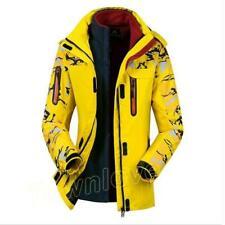 Men Womens Camo Outdoor Hooded Warm Fleece Jackets Climb Sports Waterproof Coats