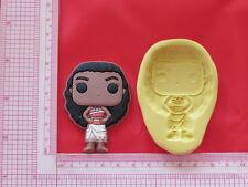 Hawaiian Princess Silicone Mold A854 Chocolate Resin Clay Candy Moana