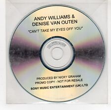 (GI984) Andy Williams & Denise Van Outen, Can't Take My Eyes Off You- 2002 DJ CD