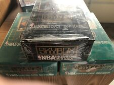 1990-91 Skybox Basketball Wax Boxes Lot  Series 1 & 2