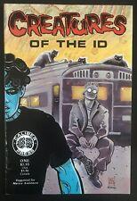 Creatures Of The ID #1 First Printing Original 1990 Caliber Comic Book Madman
