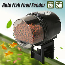 Automatic Fish Tortoise Food feeder Aquarium Tank Fish Food Auto Timer Feeding