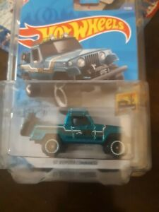 Hot Wheels 2020 Super Treasure Hunt* '67 Jeepster Commando * w/protector-