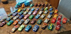 Disney Pixar Cars Diecast Lot of 55 cars. Next Gen racers and many more! Lot #1