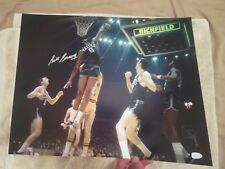 BILL RUSSELL SIGNED 16X20 PHOTO JSA, GORGEOUS PERFECT 10 SIGNATURE