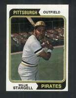 1974 Topps #100 Willie Stargell NM/NM+ Pirates 123599