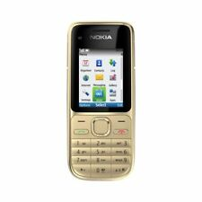 NOKIA C2-01 MOBILE PHONE GOLD AND BLACK FAULTY FOR PARTS