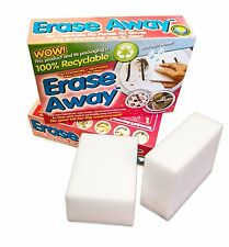 12 X Oven Pride Erase Away Stain Remover White Foam Magic Pads Sponges