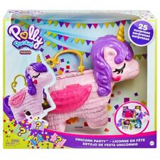 Polly Pocket Unicorn Party Surprise Playset