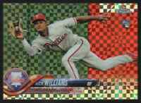 NICK WILLIAMS RC PARALLEL - 2018 TOPPS CHROME X-FRACTORS #147 !