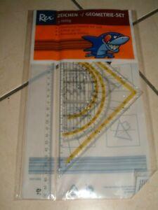 Zeichen-/ Geometrie-Set 3- teilig
