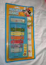 Vintage Music Toy, 7 color notes Mickey Band Xylo & notes  ,Bontempi, Italy