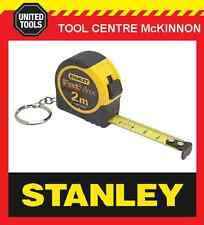 STANLEY FAT MAX 2m METRIC KEY RING TAPE MEASURE