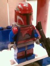 Lego Star Wars Obiwan Kanobi in Mandolorian Super Commando Custom Darth Maul
