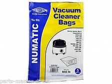 FITS Henry Vacuum CLeaner Hoover Dust Bags 5 Pack