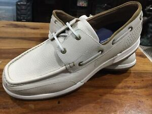 Tommy Bahama Ashore Thing Relaxology Loafer Shoes Men's 11.5 D Ivory NWOB