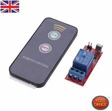 Relé conmutador 1PCS 1 canal infrarrojo de conducción Módulo Board 12V mando a distancia