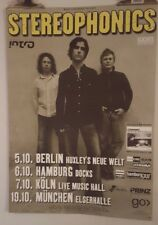Stereophonics  tour 2003 Original Concert  poster
