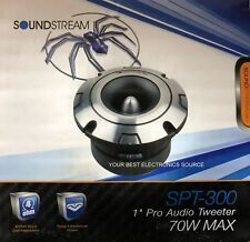 Black Soundstream SPH.300 1-Inch Pro Audio Series Tweeter Horn Lens