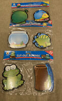 Carson Dellosa Cut-Out Buddies Lot Of 3 Frogs Fish Bugs Primary Teacher Games