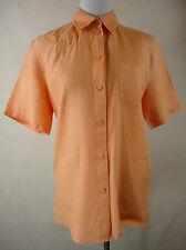 Leinene Klassische Damenblusen,-Tops & -Shirts mit Kurzarm-Ärmelart für Business