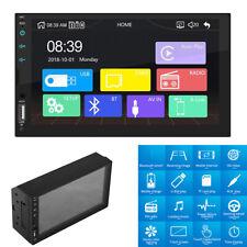 2 Din 7inch Bluetooth FM Player Stereo Radio MP5 USB Dongle Auto Play Universal