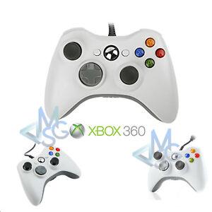 Joystick Xbox 360 Controller Xbox 360 con Cavo come Originale Compatibile Joypad