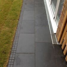 Black Slate Paving✔Patio Slabs  Garden ✔10m2 600x400mm 15to20mm✔FREE✔DELIVERY✔