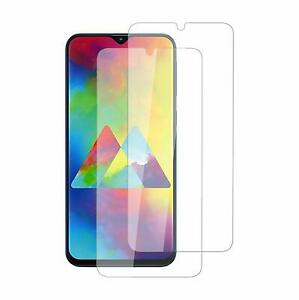 2X Schutzglas Glasfolie für Samsung Galaxy M20 2019 Display Panzerfolie Full 9H