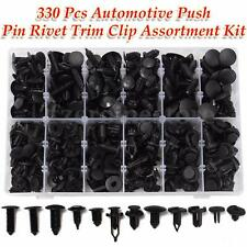 330pc Car Automotive Push Pin Rivet Clips Trim Fastener For Toyota Honda GM Ford