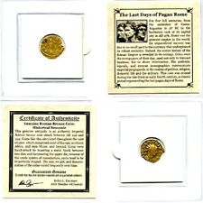 Roman Empire The Last Days of Pagan Rome Coin,Mini Album & Story,Certificate.