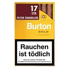 5 x Burton Gold Filter Zigarillos 170 St/Stg(0,118€=1St)