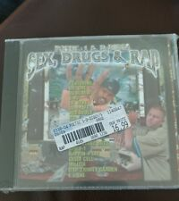 Poetic-1 & D-Diggs SEX, DRUGS & RAP CD ft DR DRE/DJ SCREW/E-40/RBL POSSE/SPICE-1