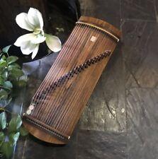 "29"" 21-String Guzheng Chinese Zither Harp Koto Fingering Practice Training #1472"