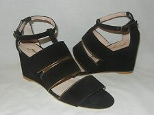 Free People Women's Final Layer Open Toe Wedge Sandal Retail $128 size 8