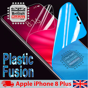 iPhone 8 Plus Shockproof Nano Plastic Fusion Shield Film Gel Screen Protector