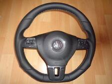 TOP STYLING LEDERENKRAD GTI R Line lederLenkrad VW T5 GOLF 6 PASSAT JETTA EOS 6K